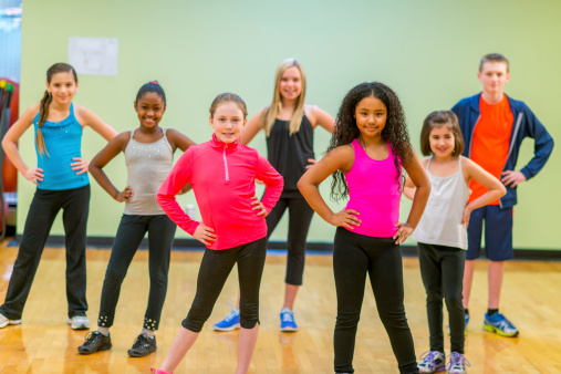 students of dance school